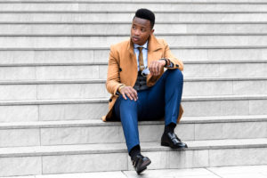 Kenyan Men's Fashion Blogger