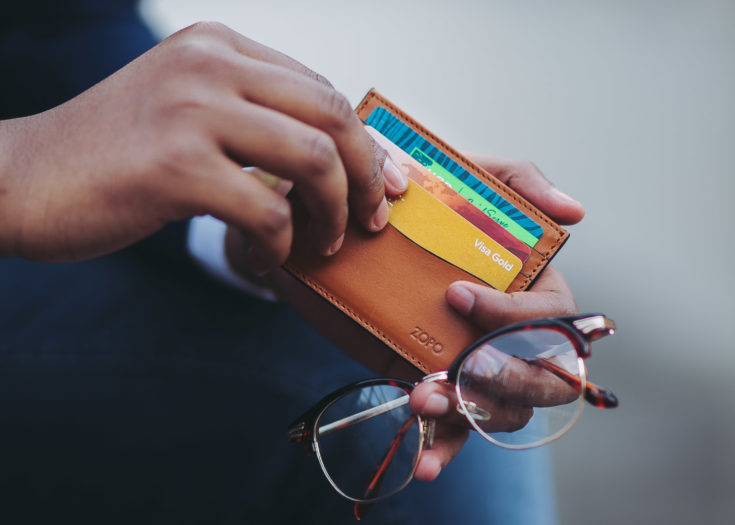 slim wallet in kenya